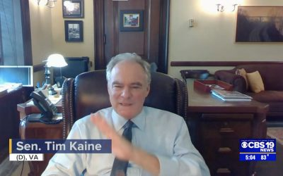 CBS 19: Kaine, UVA Health Host Virtual Discussion on Mental Health in Health Care